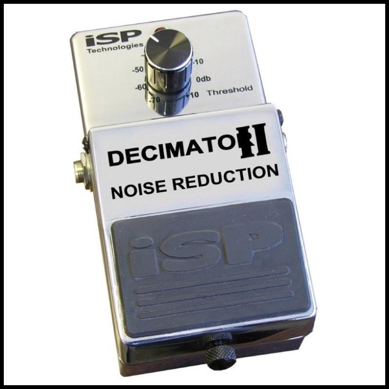 ISP Technologies DECIMATOR II Noise rotuction Eliminator Guitar Effect Pedal v2