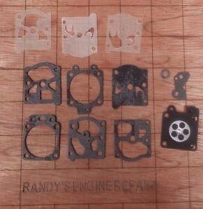 Walbro-Carburetor-Carb-Kit-D20-WAT-WA-WT-Gasket-Diaphragm-Overhaul-US-Seller