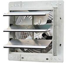 Electric 10 Auto Shutter Exhaust Fan Aluminum Vent 600cfm Workshop Attic Garage