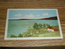 Lake Helen Nipigon, North Shore, Lake Superior, Ontario Canada Postcard