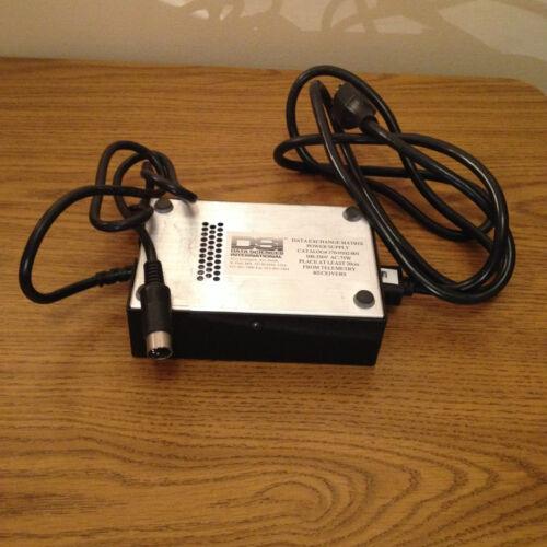 DSI  DATA EXCHANGE MATRIX  370-0102-001  POWER SUPPLY