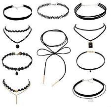 10 St. Damen Choker Halskette Velvet Spitze Halsband Spitze Halsketten Tattoo