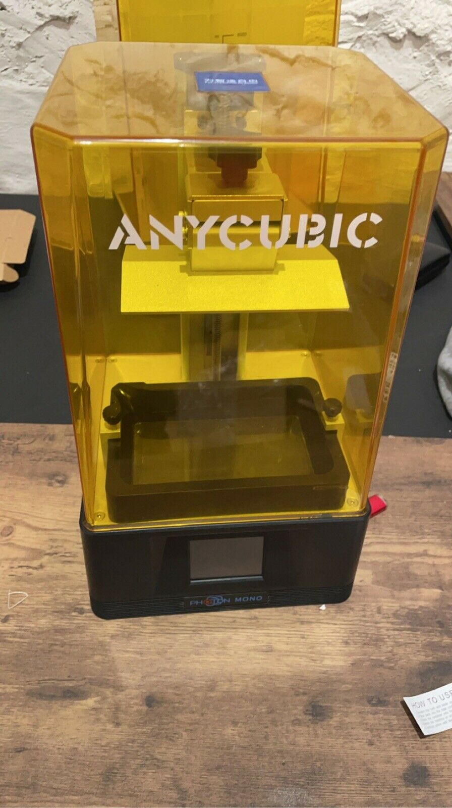 anycubic photon mono / anycubic wash and Cure plus / 3 anycubic resin