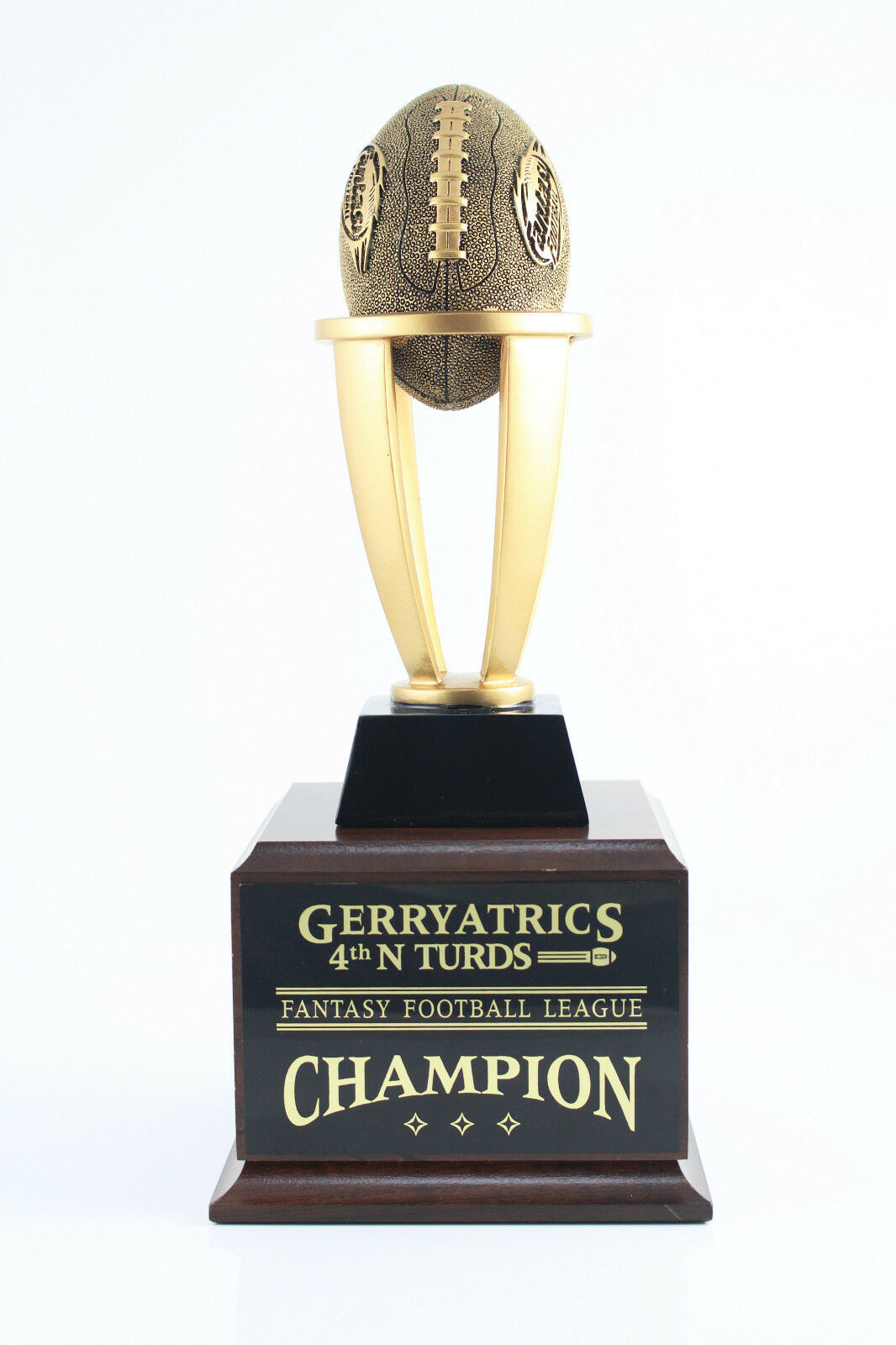6 YEAR TOWER FANTASY FOOTBALL TROPHY - FREE ENGRAVING  SHIPS IN 1 DAY