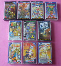 Atari 8-Bit - COLLECTION of GAMES Arcade Adventure 800XL 130XE