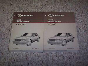 1991 lexus ls400 ls 400 factory workshop shop service repair manual rh ebay com 1993 Lexus LS400 1998 Lexus LS400 Repair Manual