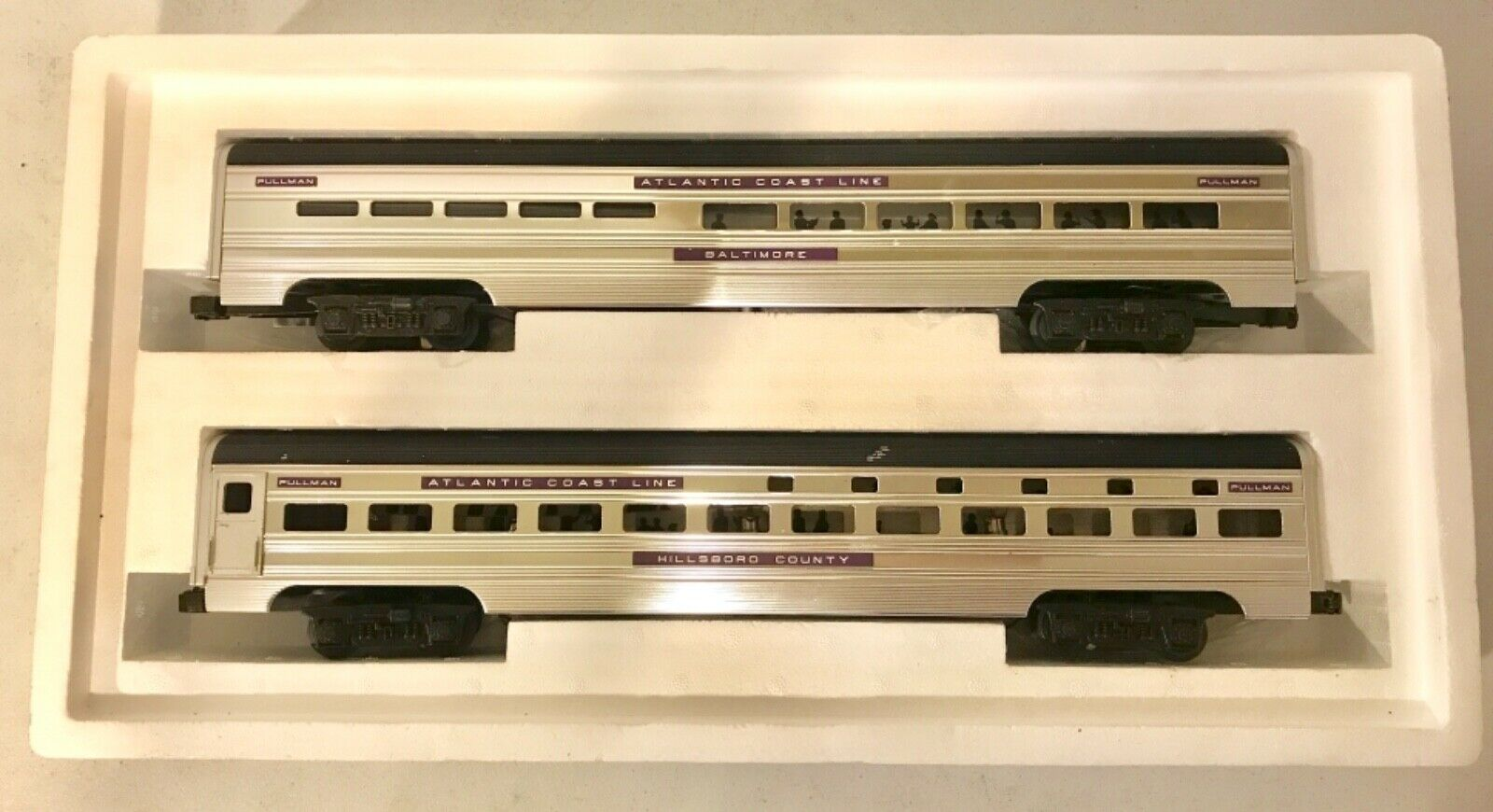 MTH o gaguge MT-6601 70' Escala Aluminio Costa Atlántica línea Durmiente & Vajilla