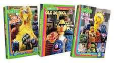 Sesame Street Old School TV Series Seasons Complete Volumes 1 2 3 Box/DVD Set(s)