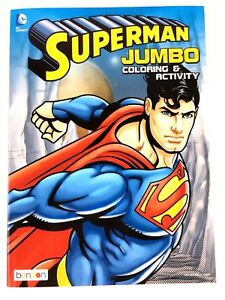Best Price DC Comic Jumbo Coloring & Activity Book Set (Batman & Superman)
