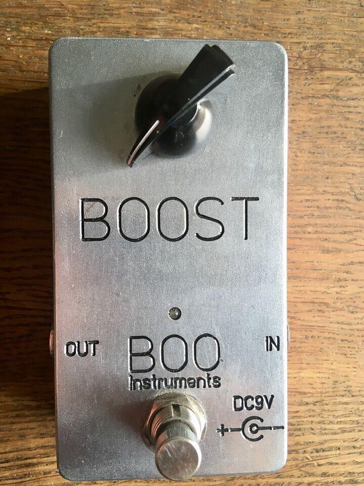 Boost pedal. , Andet mærke Boo boost.