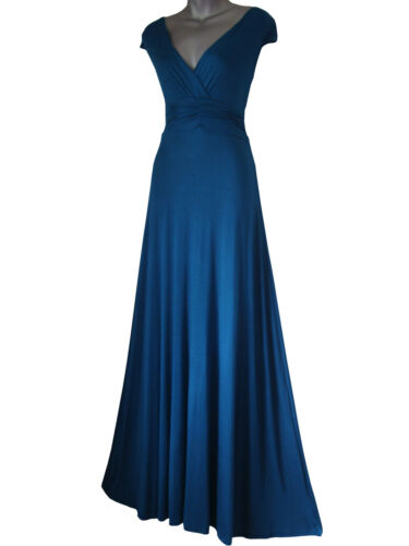 LONG FULL LENGTH MAXI EVENING COCKTAIL PARTY BALL DRESS SIZES 8-26