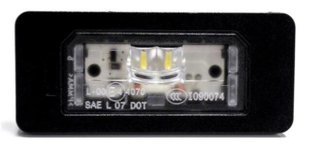 BMW E82 E88 E90 E71 F10 F45 originale luce lampada led targa 63267193293