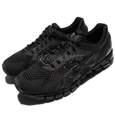 Asics Gel-Quantum 360 Knit Triple Black Men Running Shoes Sneakers T728N-9099