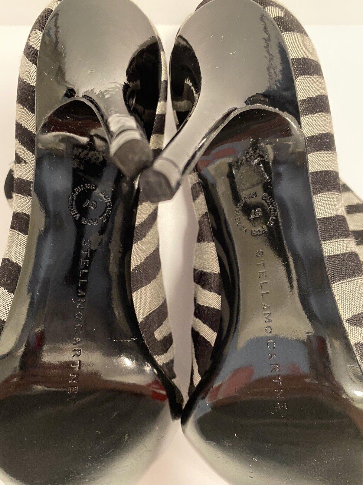 Stella McCartney Zebra Striped Boots Size 36 - image 9