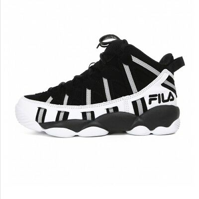 FILA SPAGHETTI 95 Men's Basketball Sneakers Shoes -  Black/White(FS1HTA1011X) | eBay