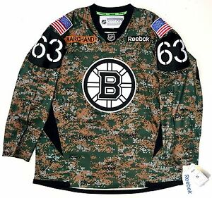 Image is loading BRAD-MARCHAND-BOSTON-BRUINS-REEBOK-PREMIER-CAMO-JERSEY- 63f8c8730ad
