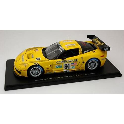 CORVETTE C 6 R N.64 Le Mans 2005 1:24 Spark Model Auto Competizione Die Cast
