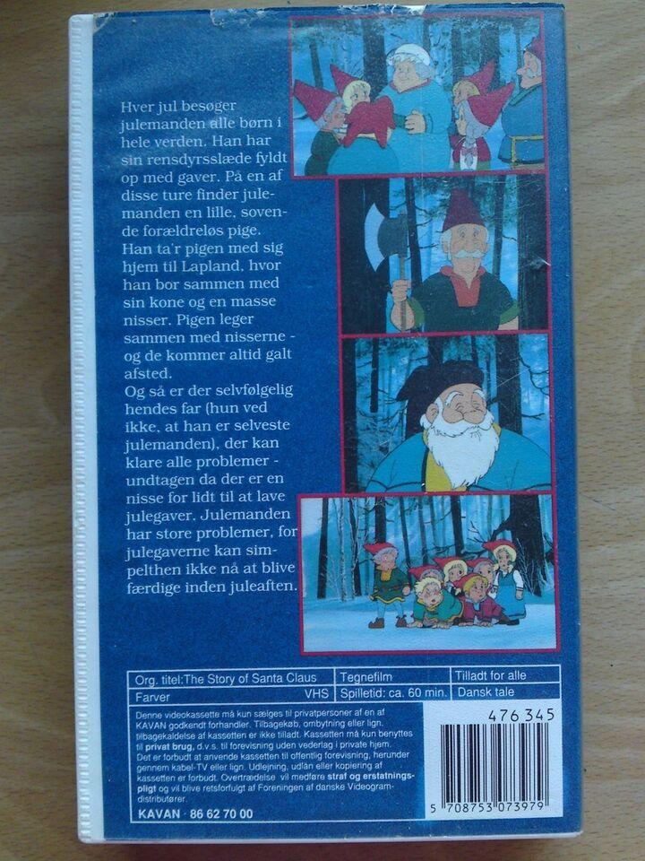 Børnefilm, på besøg hos julemanden
