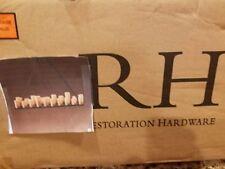 """Restoration Hardware 59"""" PILLAR CANDLE RECTANGULAR CHANDELIER NEW"""