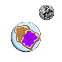 Peanut Butter And Jelly Lapel Hat Tie Pin Tack