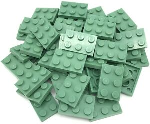 Lego New 25 Dark Blue Plates 4 x 4 Dot Pieces Parts