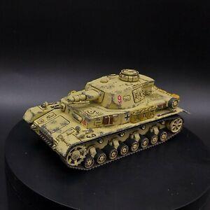 PRO PAINTED 28mm BOLT ACTION tedesco DAK Panzer IV ww2 (Plastica)