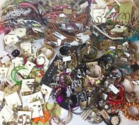 Designer Mixed Jewelry Grab Bag Lot - Earrings, Necklaces & Bracelets