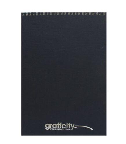 GRAFF-CITY SKETCH BOOK DRAWING PAD PORTRAIT A3 A4 A5