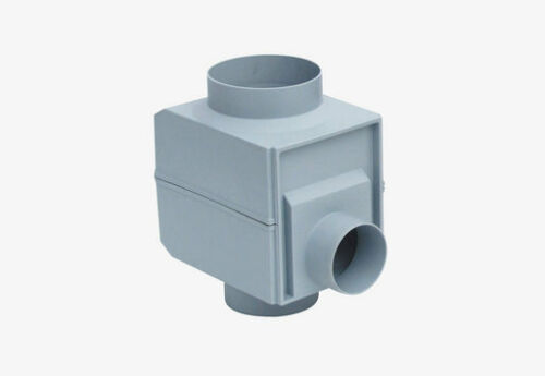 Regendieb Rainthief Rainwater Harvesting Garantia Downpipe Filter Diverter Grey
