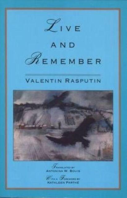 Live and Remember by Valentin Rasputin (Paperback, 1992)