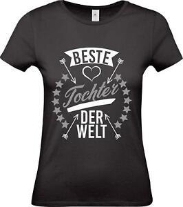Shirtstown-Lady-T-Shirt-beste-Tochter-der-Welt-Familie