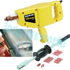 ELECTRIC STUD GUN WELDER AUTO BODY DENT DING SLIDE PULLER COMPLETE REPAIR KIT