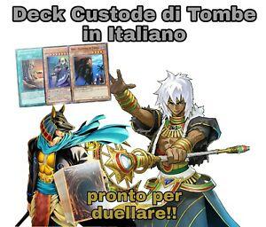 Yu-Gi-Oh-Deck-Completo-Mazzo-CUSTODE-DI-TOMBE-40-Carte-ITALIANO-MYDECK