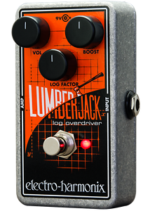 Brand New Electro Harmonix EHX Lumberjack Logarithmic Overdrive Pedal