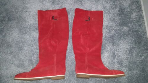Boots Of United Red 6 Benetton taglia Colors q8IIPw1