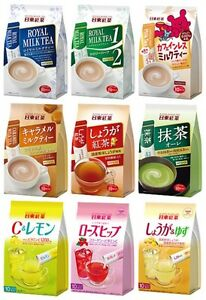 ... -Instant-Stick-Powder-Royal-Milk-Tea-Matcha-Ginger-Yuzu-Import-JAPAN