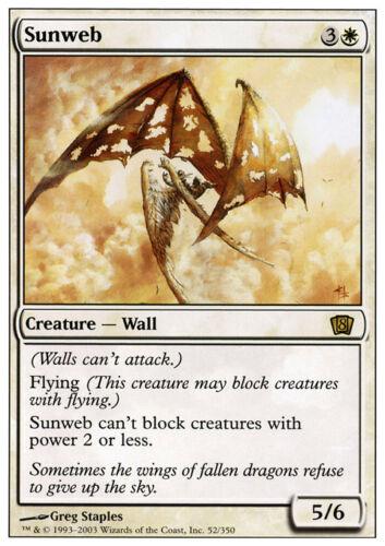 Sunweb X1 *CCGHouse* Magic 8th Edition NM MTG
