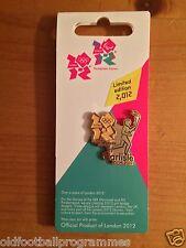 LONDON 2012 OLYMPICS TORCH RELAY (CARLISLE) PIN BADGE (20.06.2012)
