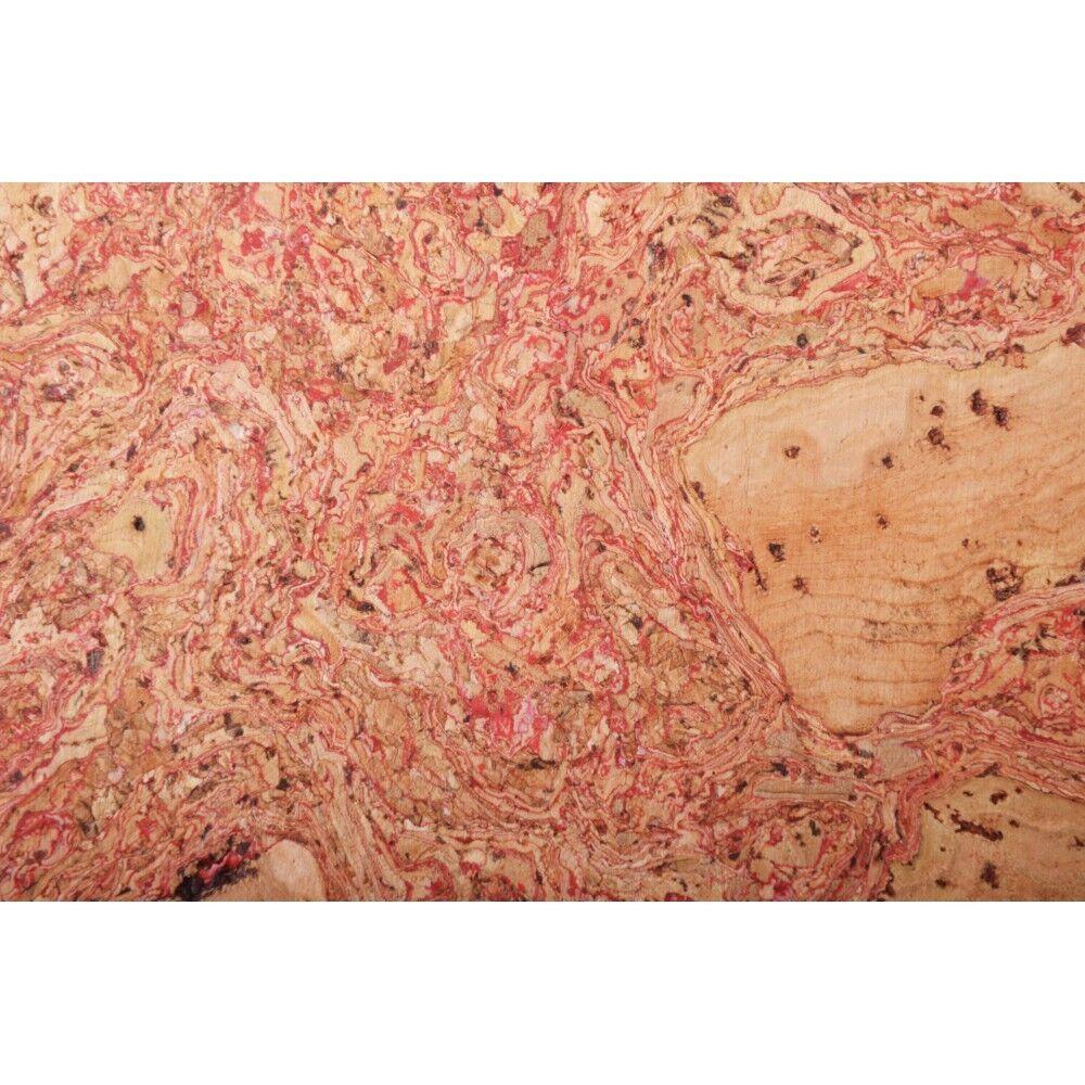Kork Wandfliesen Toledo Rot 60cm X 30cm 11 Total 1,98 M2