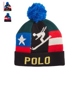 d1a0498a NWT Polo Ralph Lauren Suicide Ski Sui Beanie Hat Vtg Climb Hi Tech ...