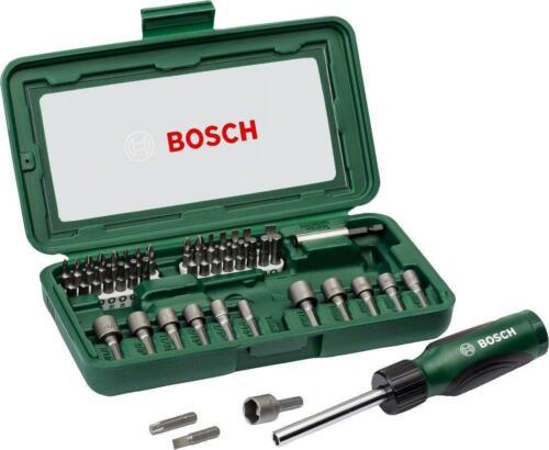 assortiment de couleurs Magnétique Bits Tool Bosch manuel Tournevis SET de 46 pièces