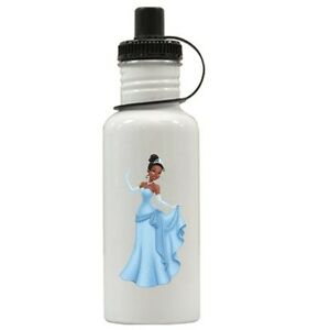 Personalized Princess Tiana Water Bottle Gift Add Name