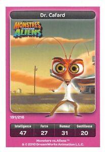 Card-Carrefour-Dreamworks-Monsters-against-Aliens-Dr-Cockroach-No-191