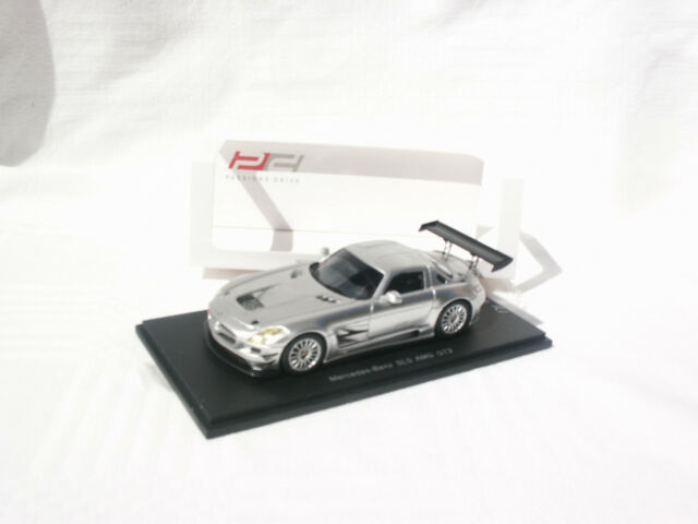 MERCEDES BENZ SLS AMG GT3 ARGENT 1/43 SPARK EDITION LIMITEE 171/300