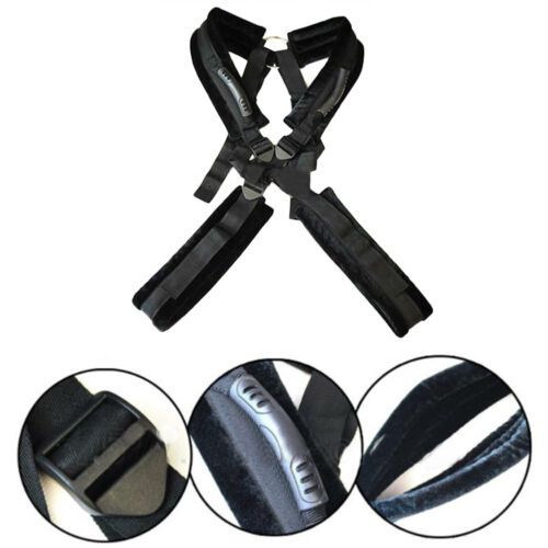 Adult Couples Game Toy Bondage Restrictions Fun Swing Hanging Sling Rope Black