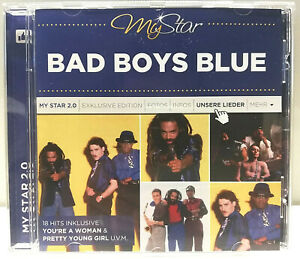 CD-Bad-Boys-Blue-My-Star-2-0-Best-of-Greatest-Hits-18-Tracks-Italo-Synth-Pop-80s