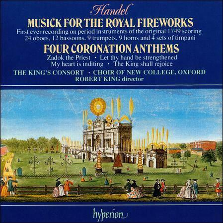 1 of 1 - The Four Coronation Anthems - King's Consort/King CD NEW