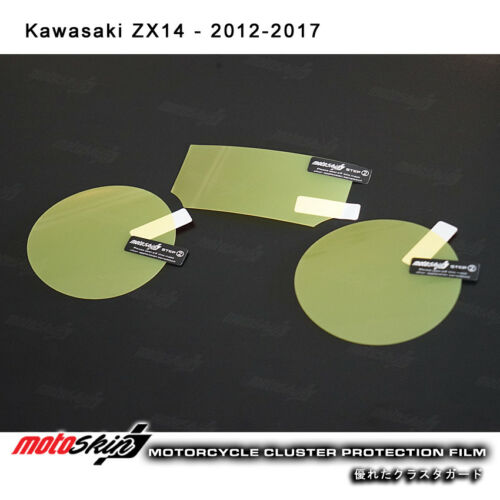 Screen Protector for Kawasaki ZX14 2012-2017 Cluster Scratch Protection Film