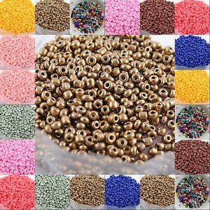 1000pcs-Czech-Glass-Seed-Round-Spacer-beads-Charming-Craft-Jewelry-Findings