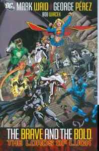 Brave-amp-The-Bold-Volume-1-Lords-Of-Luck-GN-Mark-Waid-George-Perez-JLA-OOP-New-NM